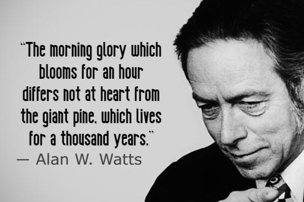 Alan Watts Love Quotes