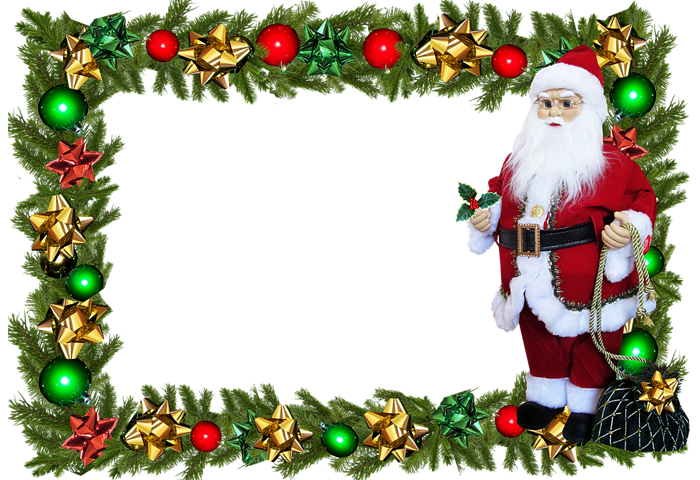 Top 100+ Free Christmas frames and borders & Christmas picture Photo frames PNG free Download