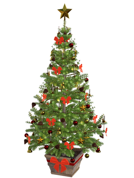 christmas tree images for drawing
