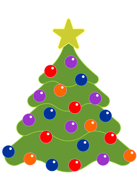 real christmas tree images