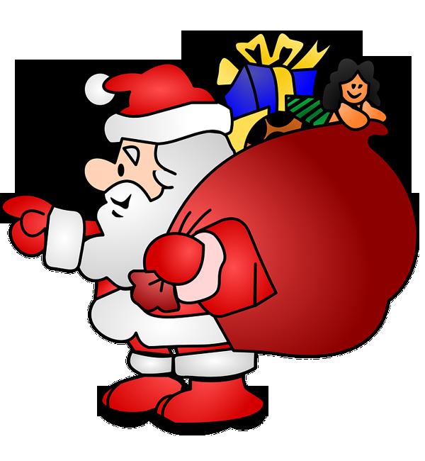 santa claus ho ho ho merry Christmas PNG