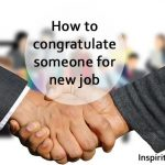 Congratulations on your new job quotes