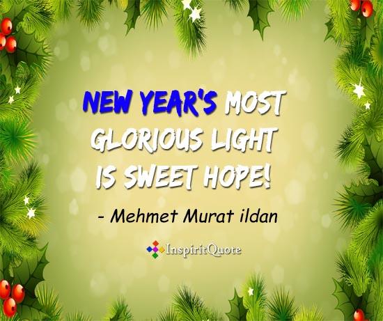 Mehmet Murat ildan new year quotes