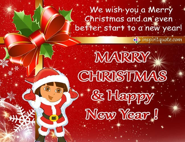 Best Merry Christmas And Happy New Year Wishes Cards with greetings