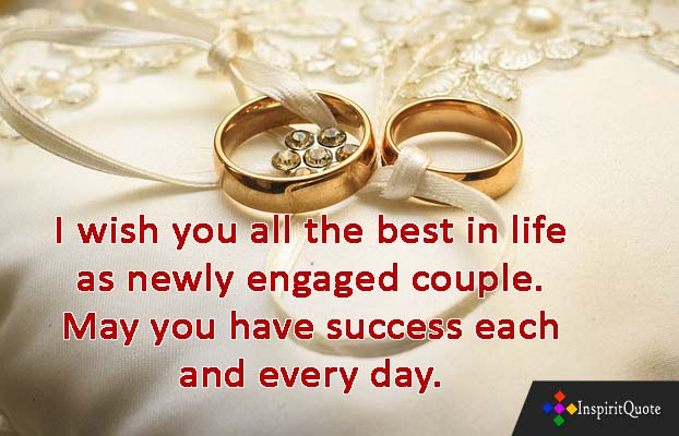Best Congratulations on your engagement quotes & Engagement wishes quotes