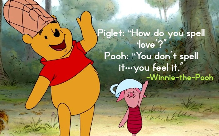 Winnie the Pooh Love Friendship Goodbye Life Funny and  Birthday Quotes