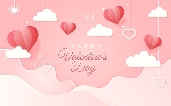 Beautyfull Heart Valentine Day Image send Your Valentine