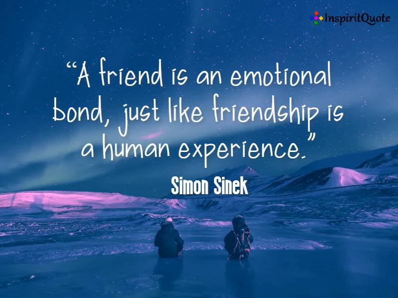 Best Friendship Quotes by simon sinek