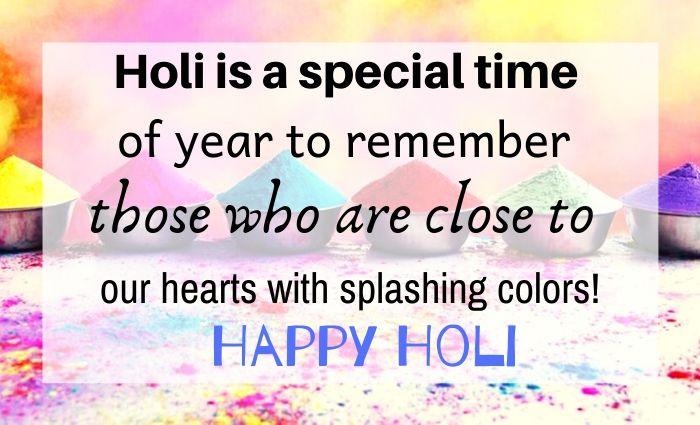 Happy Holi Quotes 2020- Holi wishes, Greetings, Status Hindi and English