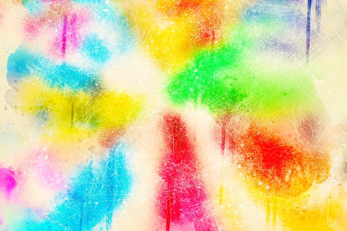 Holi Color Background