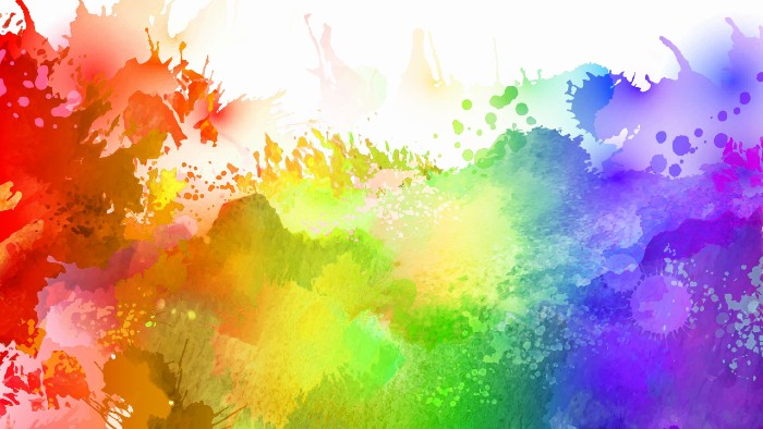 Holi Colours Background