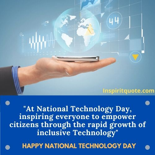 Happy National Technology Day Massages