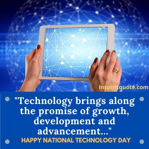 Happy National Technology Day Quotes
