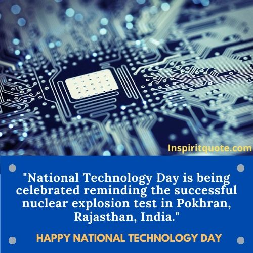 Happy National Technology Day SMS