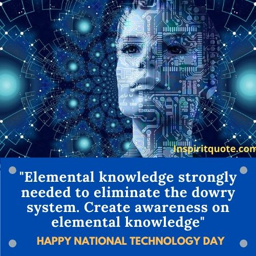 Happy National Technology Day