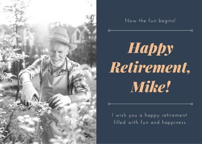 Congratulate Retirement