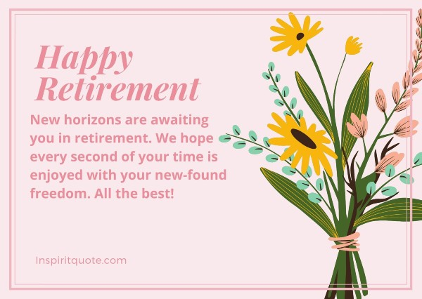 Retirement Wishes for Coworker