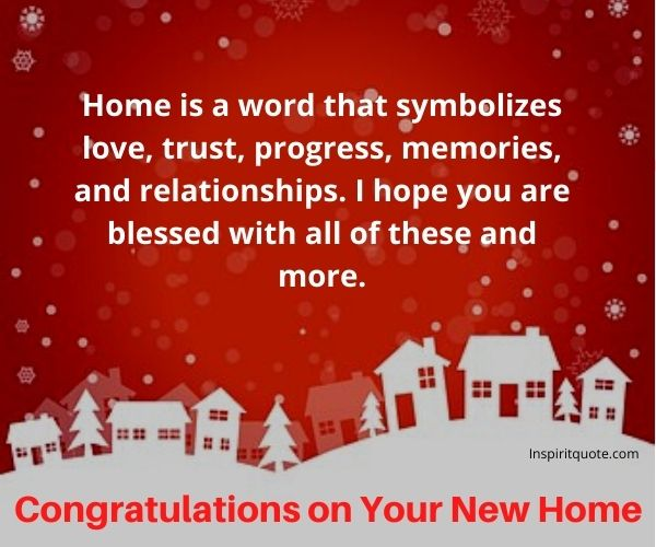 Congratulations on Your New Home Images