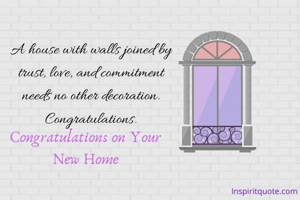 Greeting Cards Congratulations on Your New Home