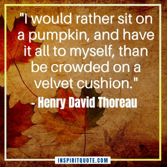 Autumn Inspirational Quotes