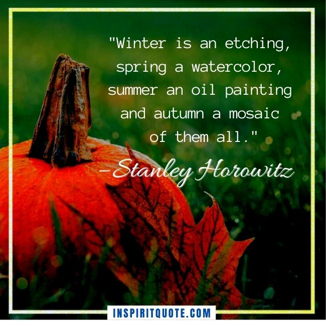 Fall Inspirational Quotes