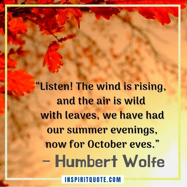 Inspirational Quotes Fall