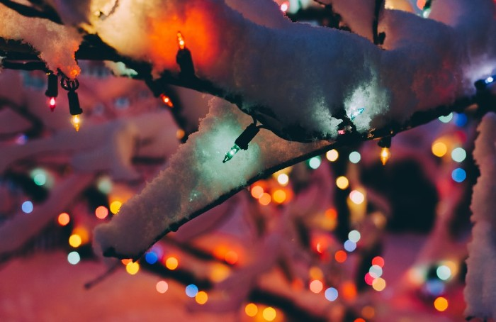 Lighted Christmas Pictures