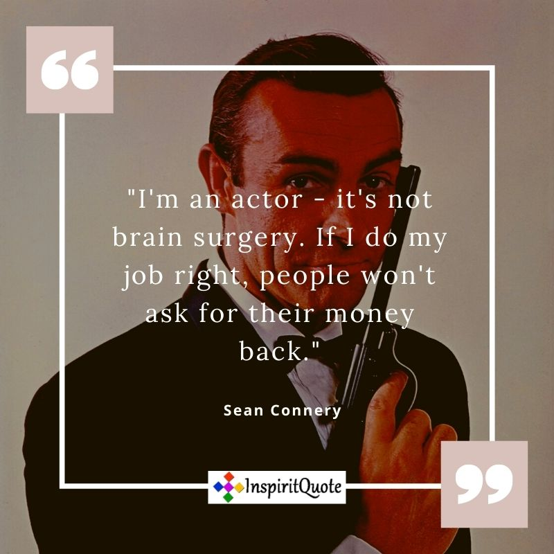 Sean Connery Quotes,