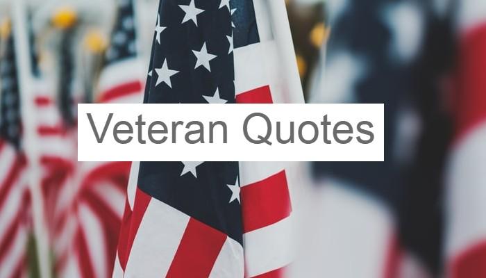 Veteran Quotes Inspirational