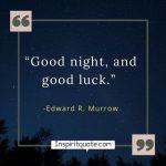 Good Night Inspirational Quotes