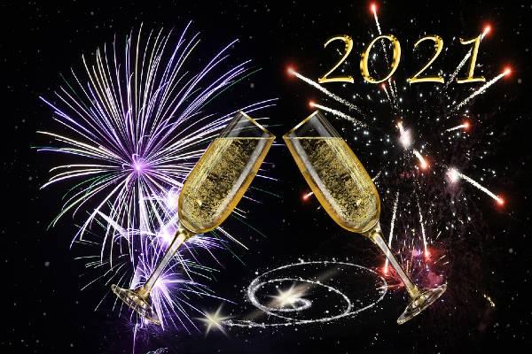 Happy New Year 2021 Crackers