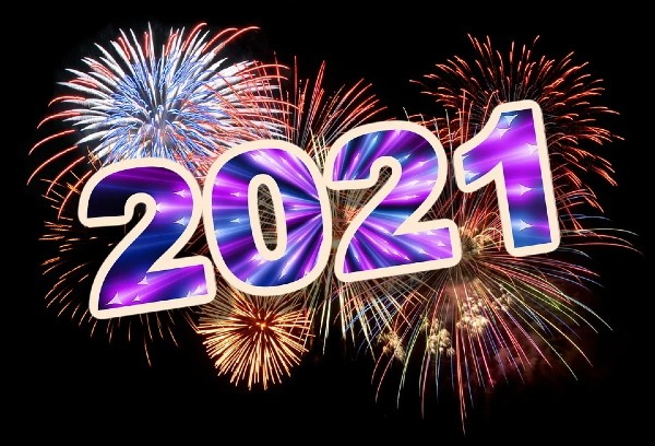Happy New Year 2021 Massages
