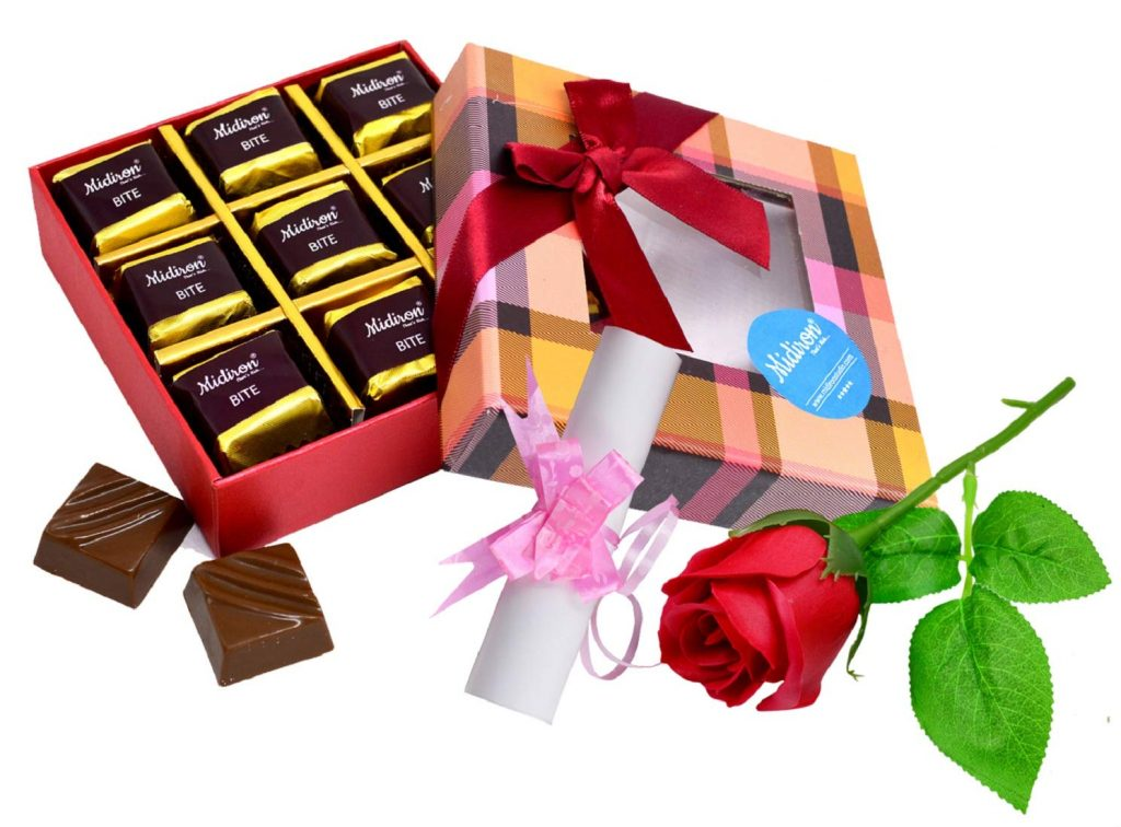 Chocolate Gift Valentine's Day
