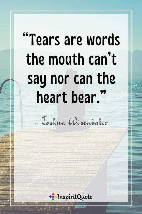 Quotation on Sad