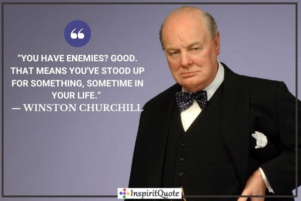 Whinston Churchill Famous Quotes