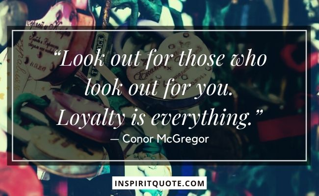 Quote of Loyalty
