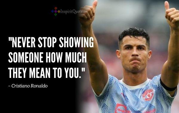 Cristiano Ronaldo Quotes About Success
